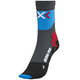 X-Socks Biking Pro Socks Men Anthracite/French Blue